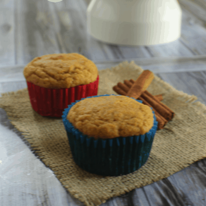 When you are in the mood for something light, and just a bit sweet, these gluten free apple cinnamon muffins are sure to please.