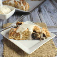 Sour Cream Cherry Scones