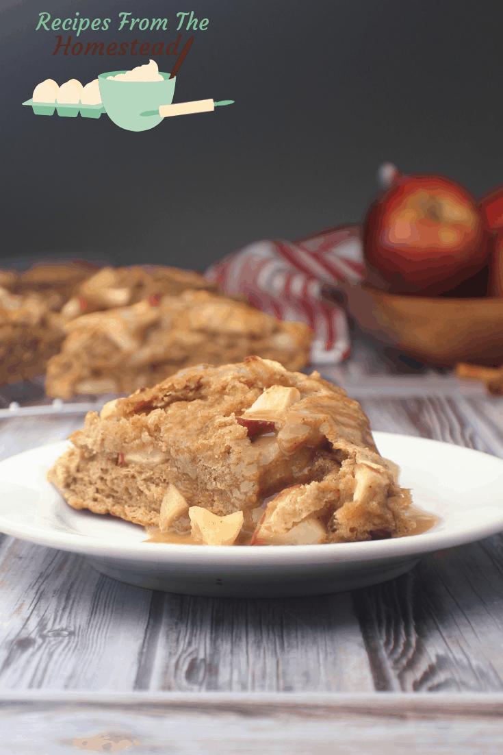 apple cinnamon scones