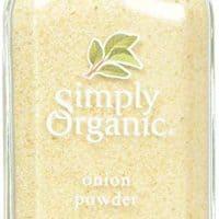Simply Organic Onion, White Powder ORGANIC 3.00 oz. Bottle (a) - 1 Pack