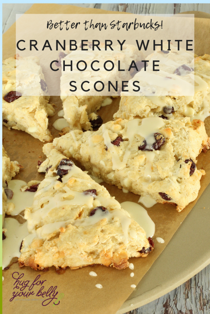 scones on parchment paper