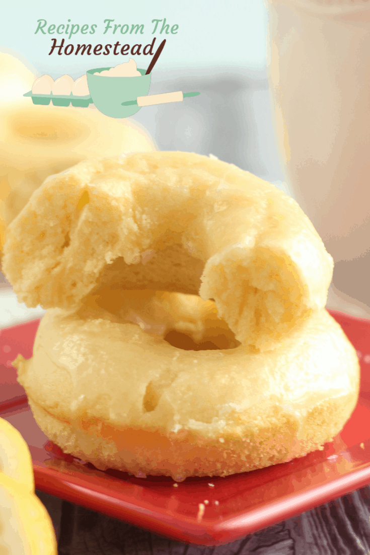 lemon glazed donuts