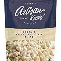 Artisan Kettle Organic White Chocolate Chips, 10 Ounce (Pack of 6)