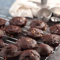 Fudgy Brownie Bites With White Chocolate