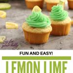lemon lime cupcakes