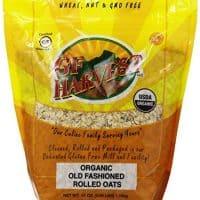 GF Harvest Organic Gluten Free Rolled Oats, 41 Ounce Bag