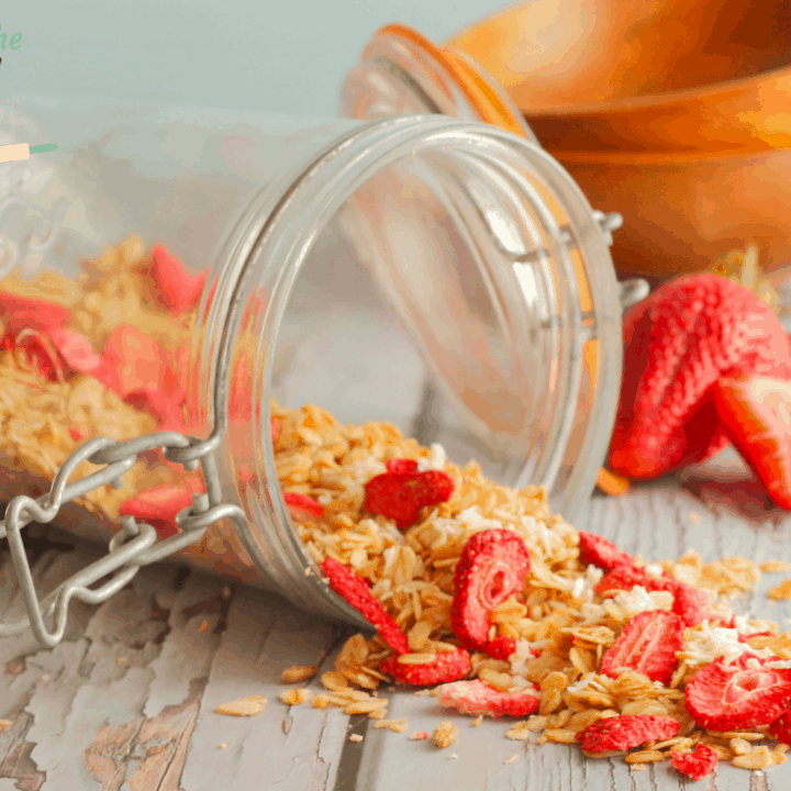 Strawberry Coconut Granola