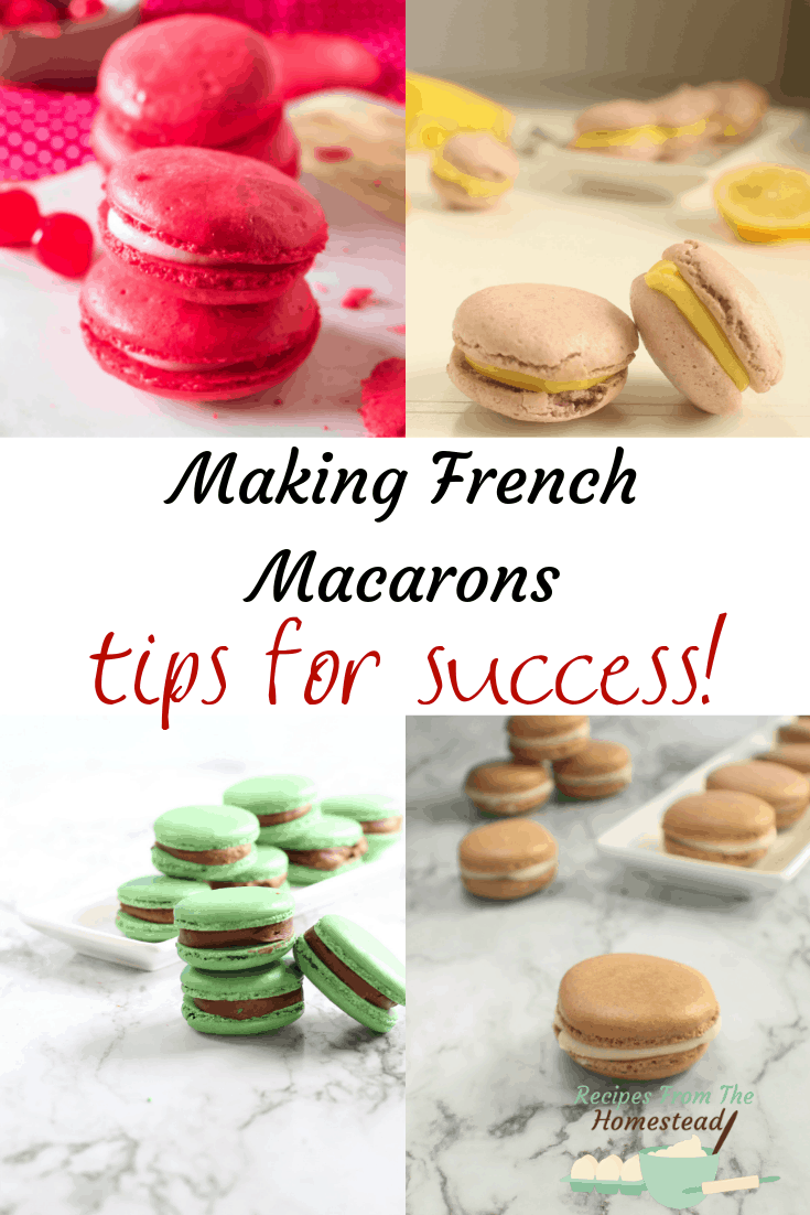 tips for making French macarons