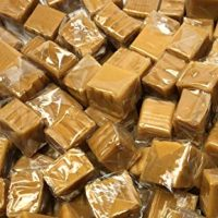 Kraft Vanilla Caramels Squares, Individually Wrapped Candy Bulk 2LB