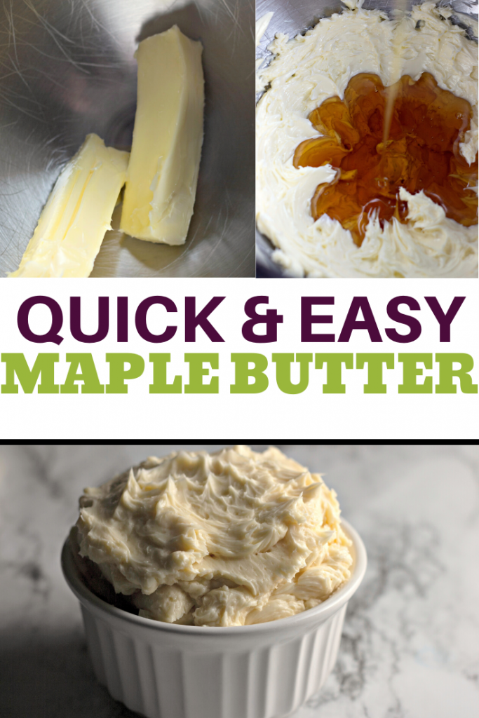 whipped maple butter
