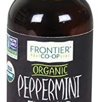 Frontier Peppermint Flavor Certified Organic, 2 Ounce Bottle