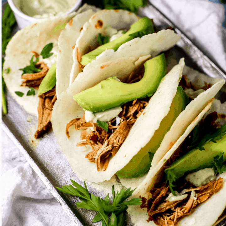 BBQ Pulled Chicken Tacos