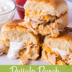 buffalo ranch chicken sliders
