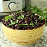Quick and Easy Black Beans (in the Instant Pot)