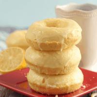 Lemon Glazed Donuts