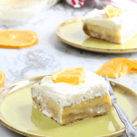 Orange Creamsicle Bars - Hug For Your Belly