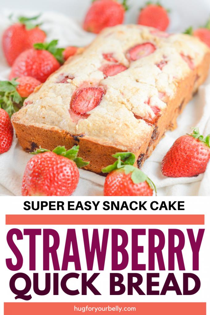 strawberry quick bread