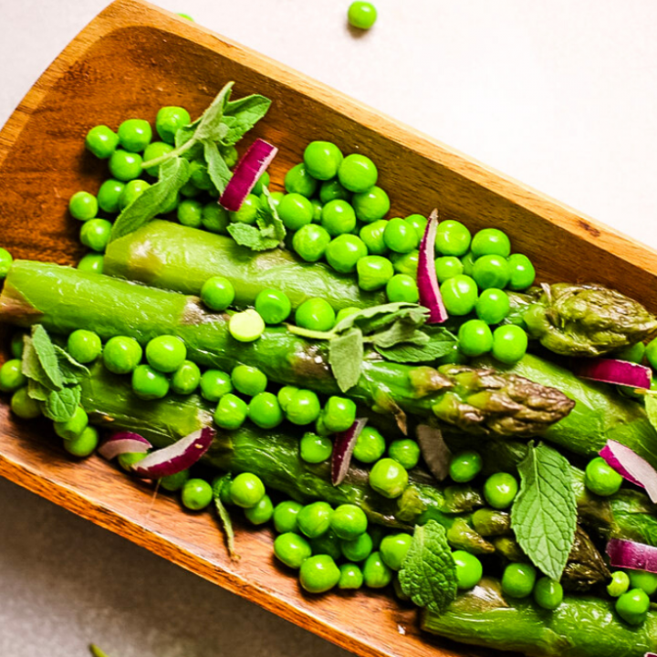 Asparagus Pea Salad