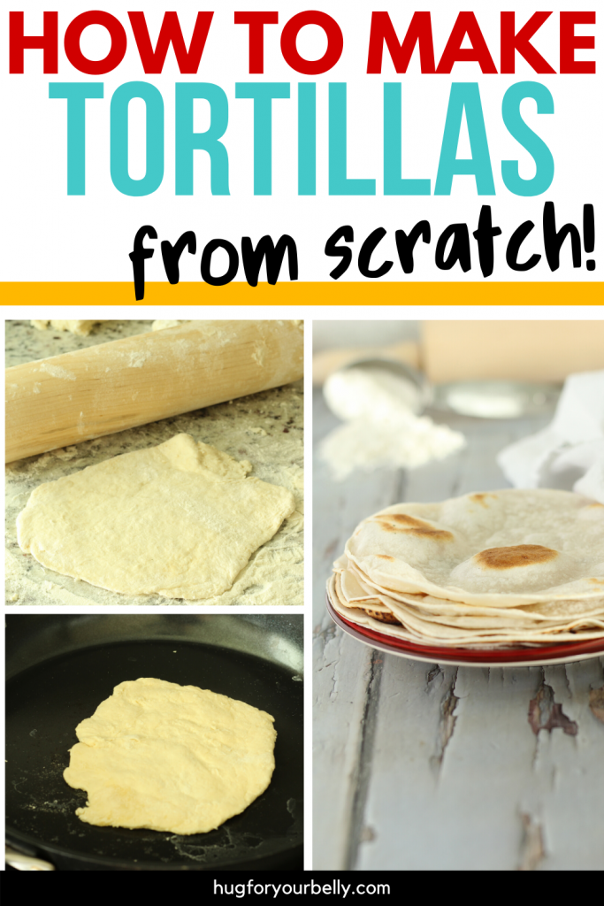 making flour tortillas