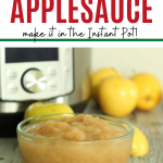 applesauce in glass bowl