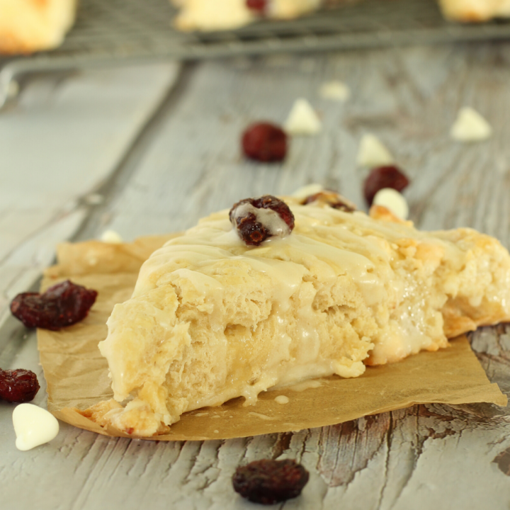 Cranberry Bliss Scones