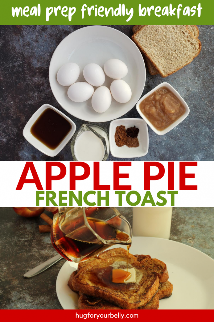 making apple pie french toast