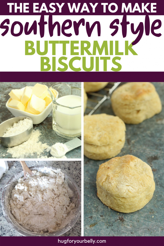 making buttermilk biscuits