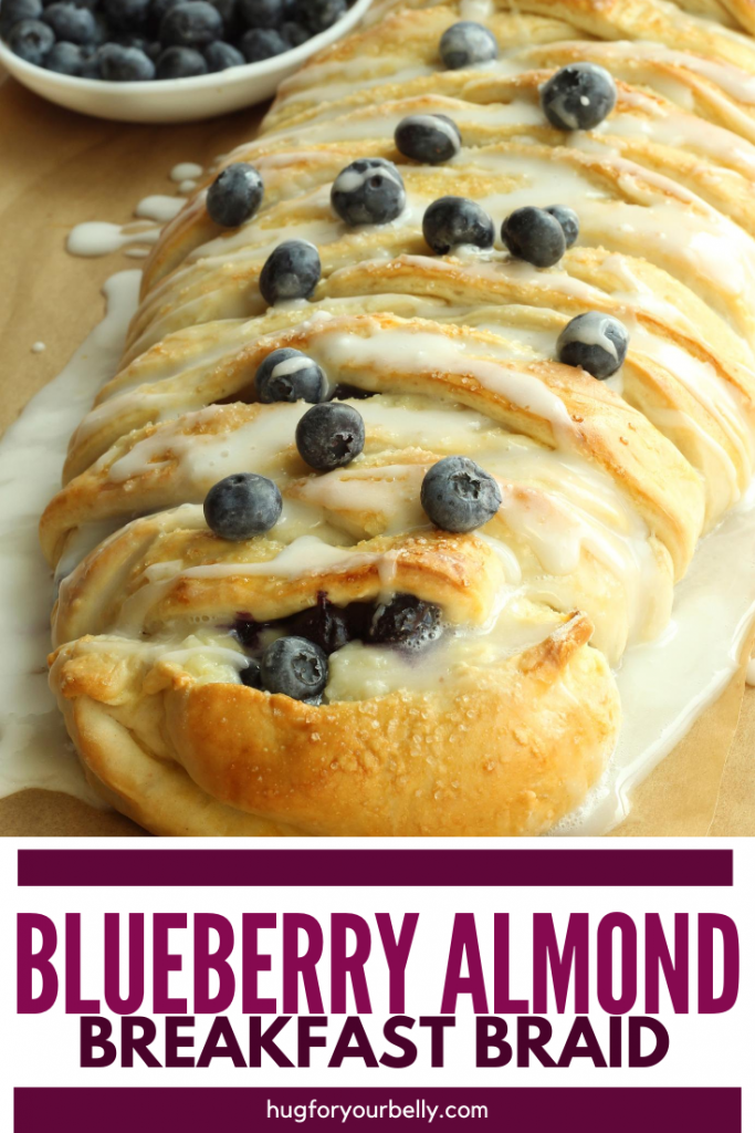 blueberry breakfast braid
