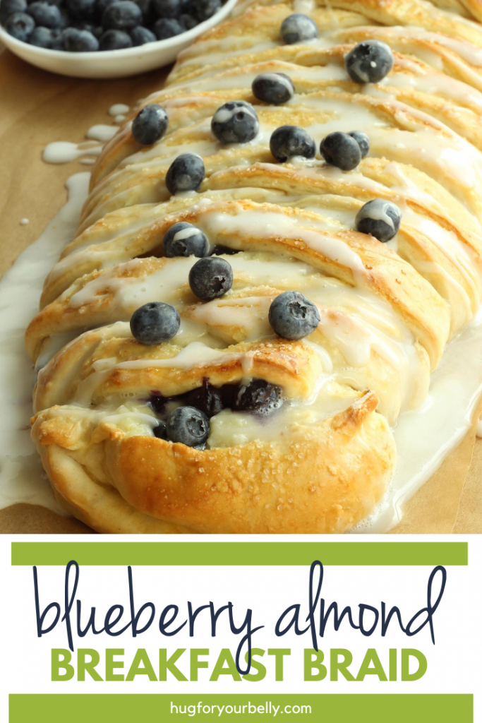 blueberry almond breakfast braid