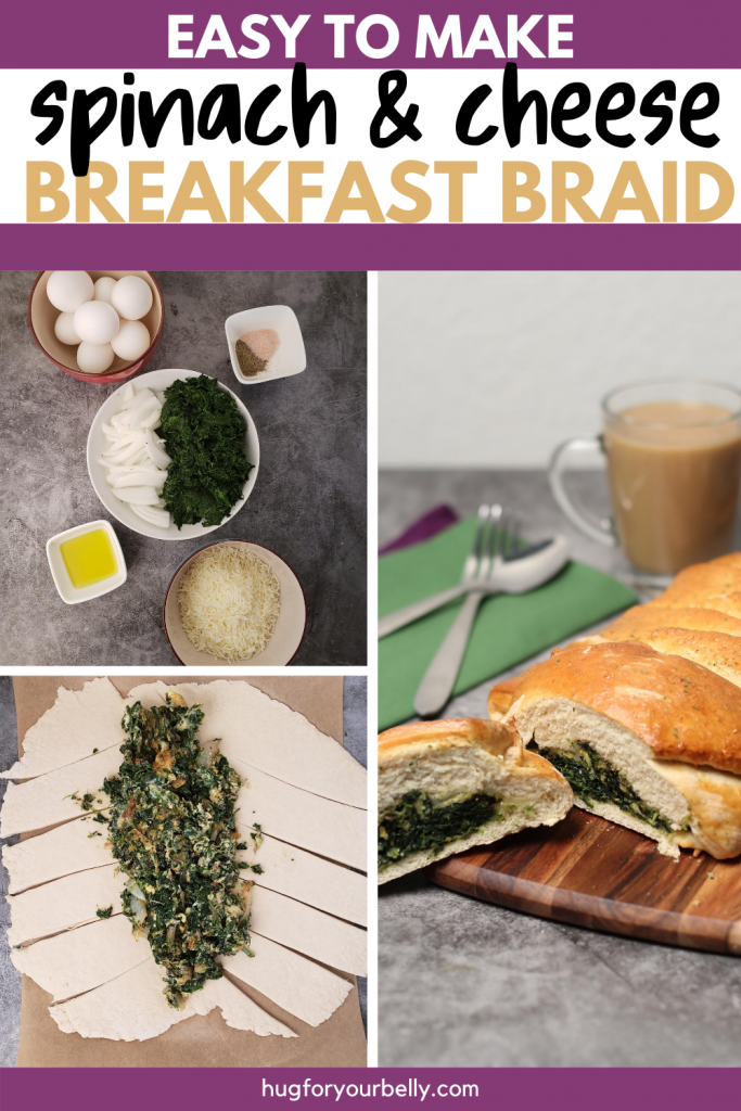 making breakfast braid