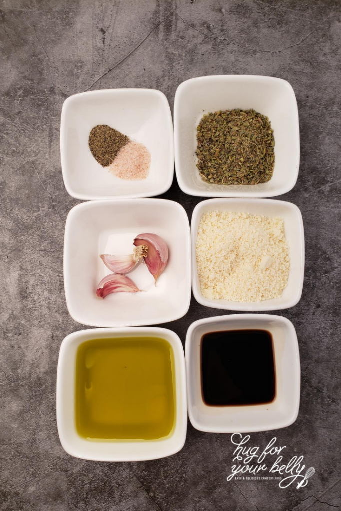 ingredients for dipping oil