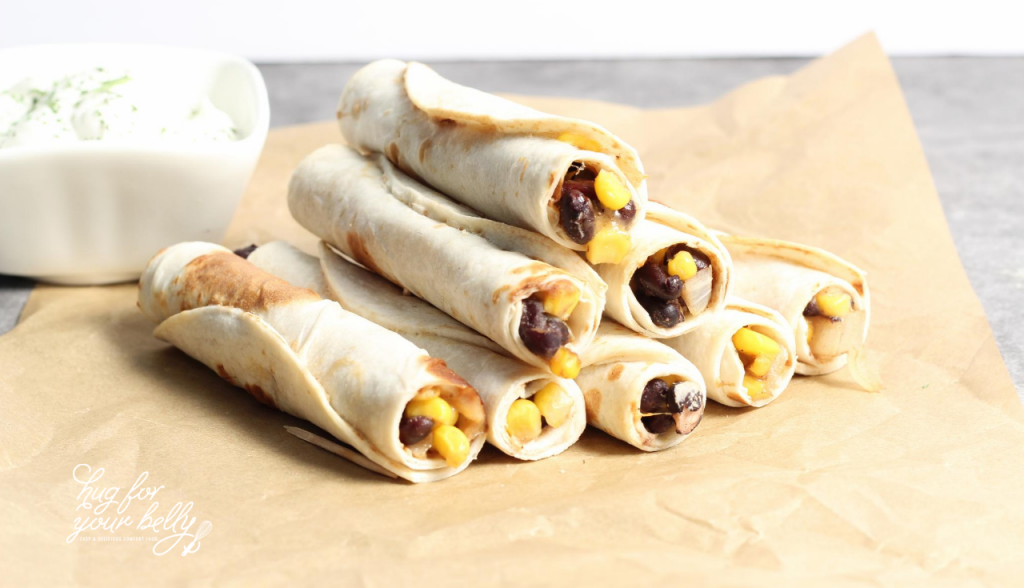 taquitos stacked