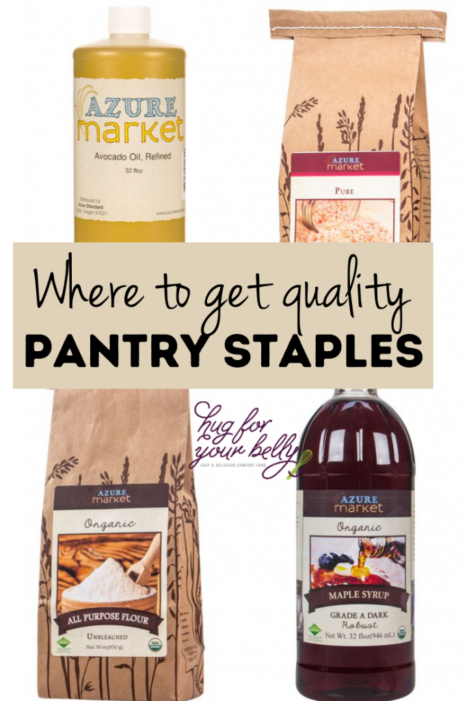 pantry staples from azure standard