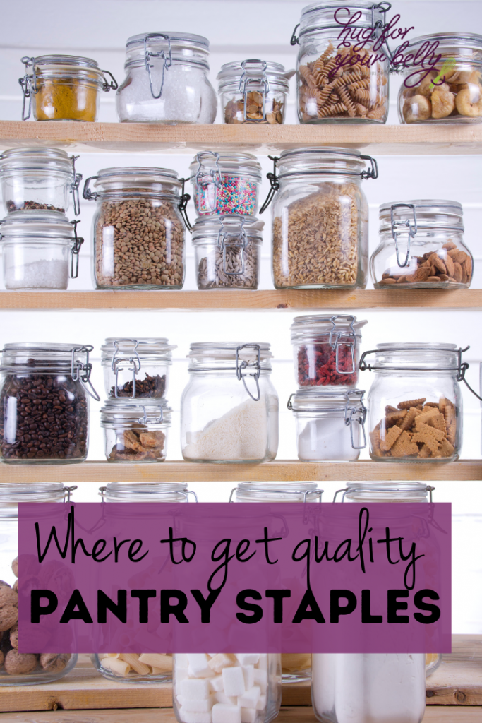 where to get pantry staples
