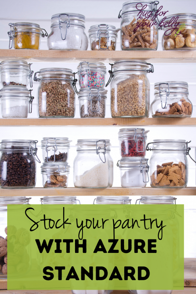 pantry staples with azure standard