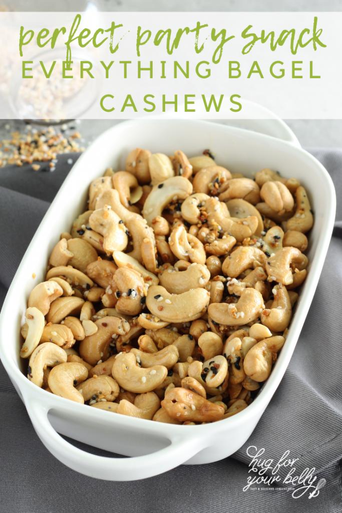 cashews in white dish