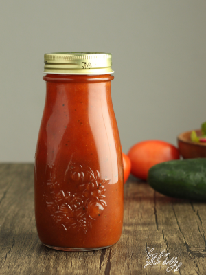 french dressing in a bottle
