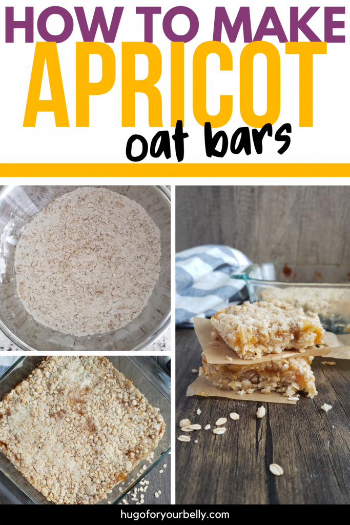 how to make apricot oat bars